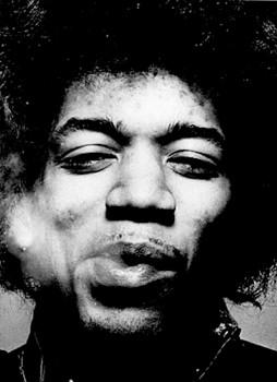 Adesivo Jimi Hendrix - 030  - HShop