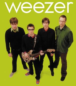 Adesivo Weezer - 040  - HShop