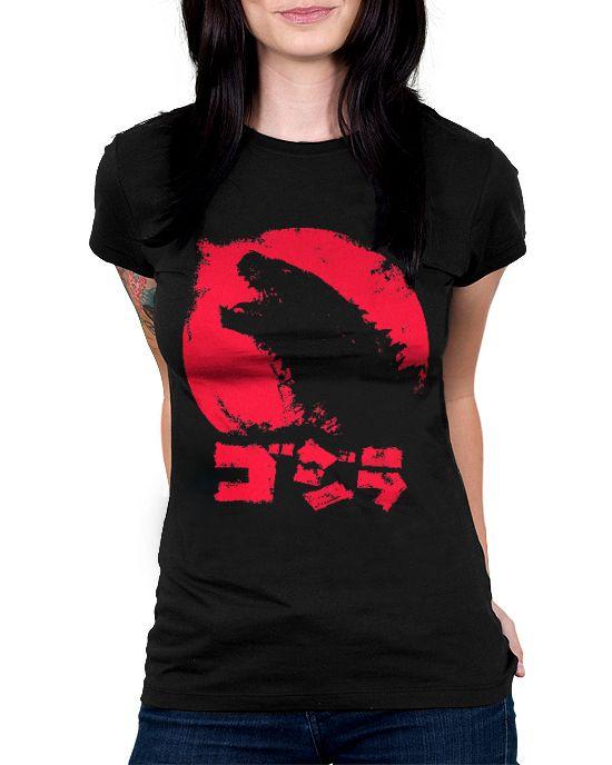 Baby Look Godzilla - Tamanho G  - HShop