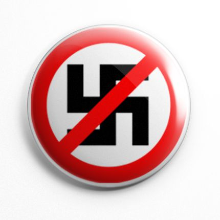 Botton Anti Nazi - 005  - HShop