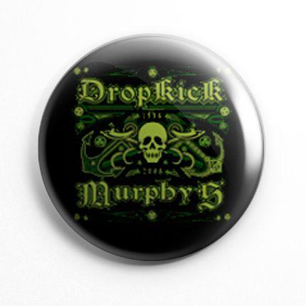 Botton Dropkick Murphys Caveira - 007  - HShop
