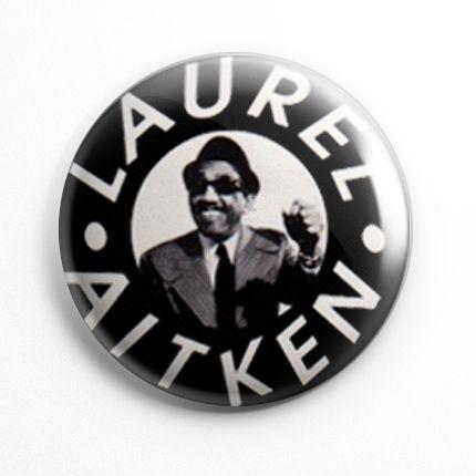 Botton Laurel Aitken - 074  - HShop