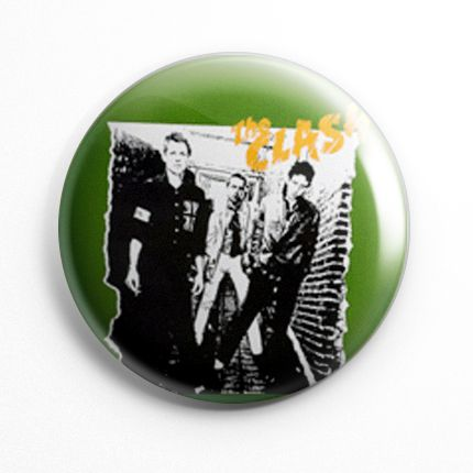 Botton The Clash - 060  - HShop
