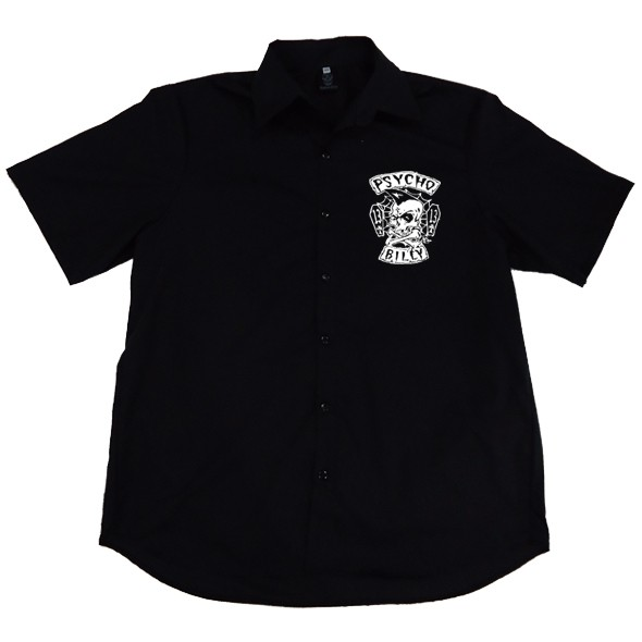 Camisa Masculina Psychobilly  - HShop
