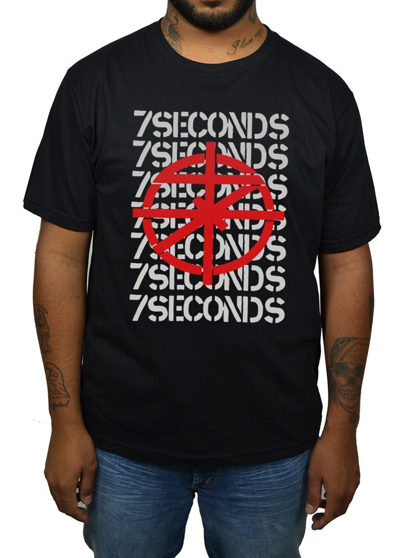 Camiseta 7 Seconds  - HShop