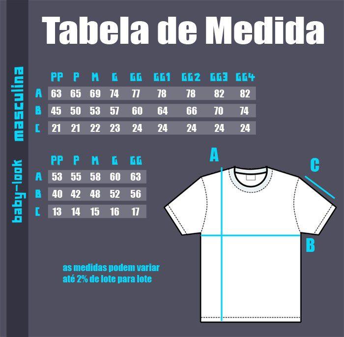 Camiseta AC/DC Estampa 3 cores - Preta  - HShop