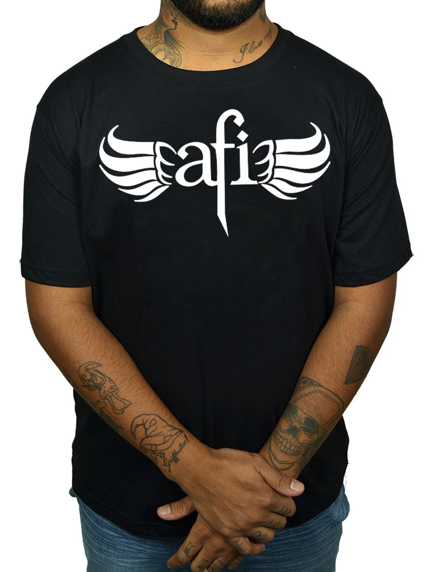 Camiseta AFI - Preta  - HShop