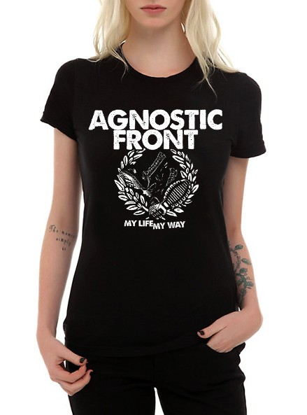 Camiseta Agnostic Front  - HShop
