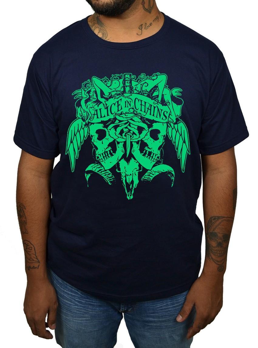 Camiseta Alice in Chains  - HShop