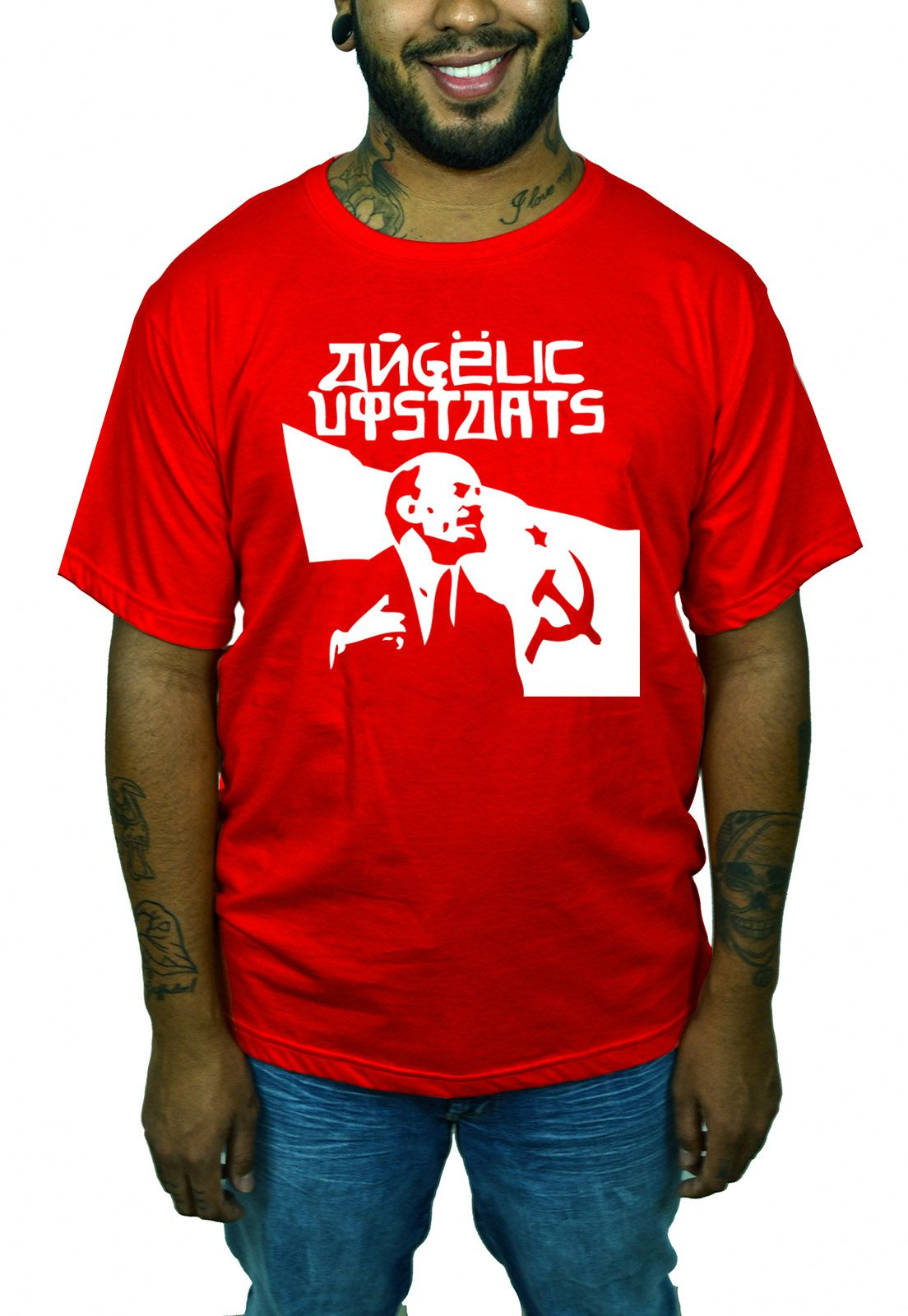 Camiseta Angelic Upstarts - Vermelha  - HShop