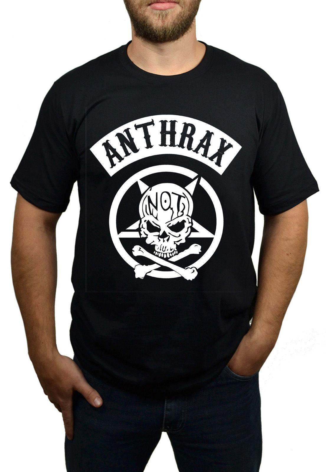 Camiseta Anthrax - Preta  - HShop