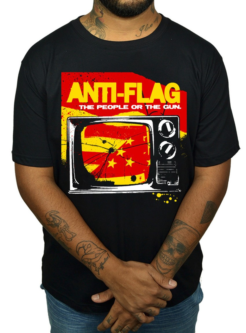 Camiseta Anti Flag  - HShop
