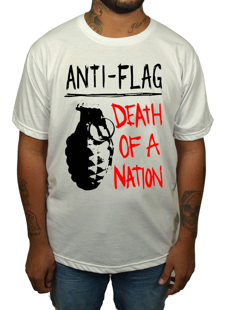 Camiseta Anti Flag - Death By Nation - HShop