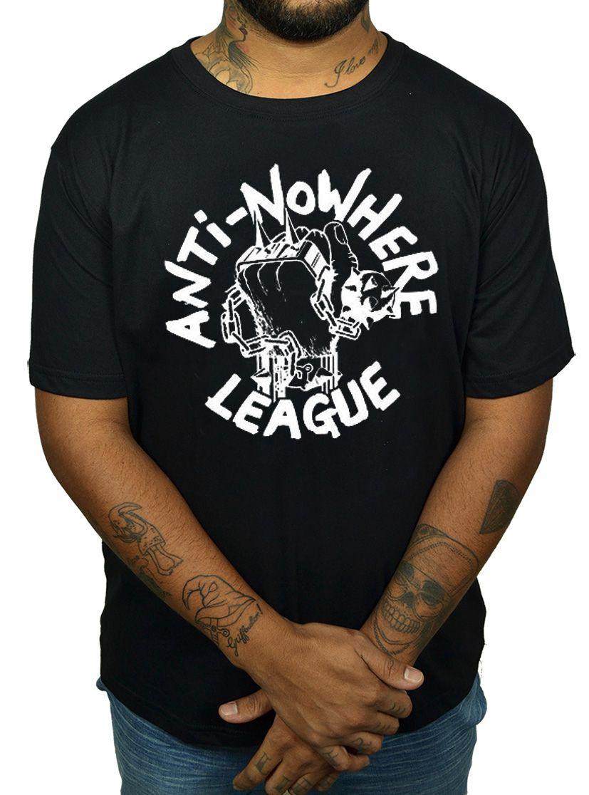 Camiseta Anti Nowhere League - Preta  - HShop