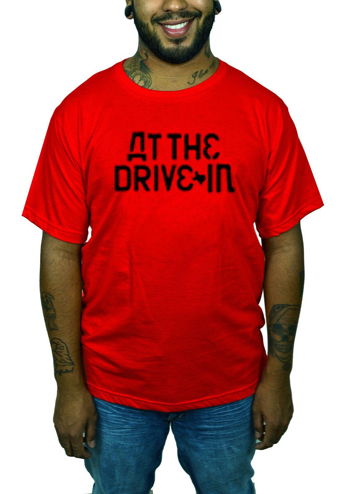 Camiseta At The Drive In - Preta  - HShop