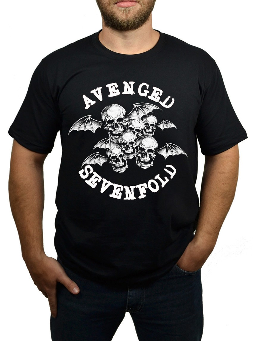 Camiseta Avenged Sevenfold Bat Country - Preta - HShop