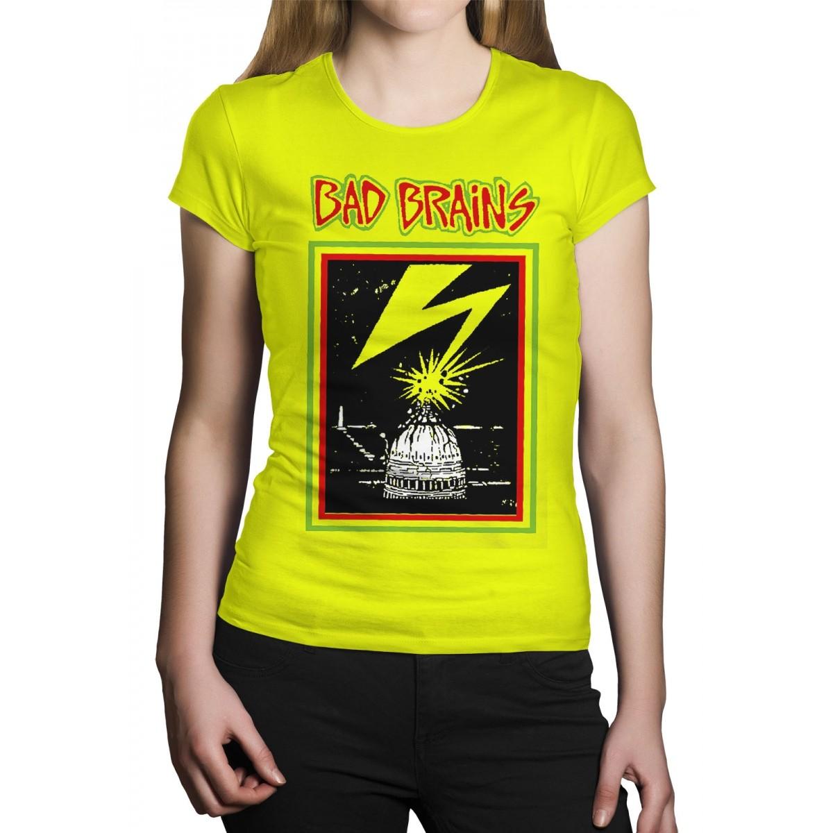 Camiseta Bad Brains - Escolha a Cor  - HShop