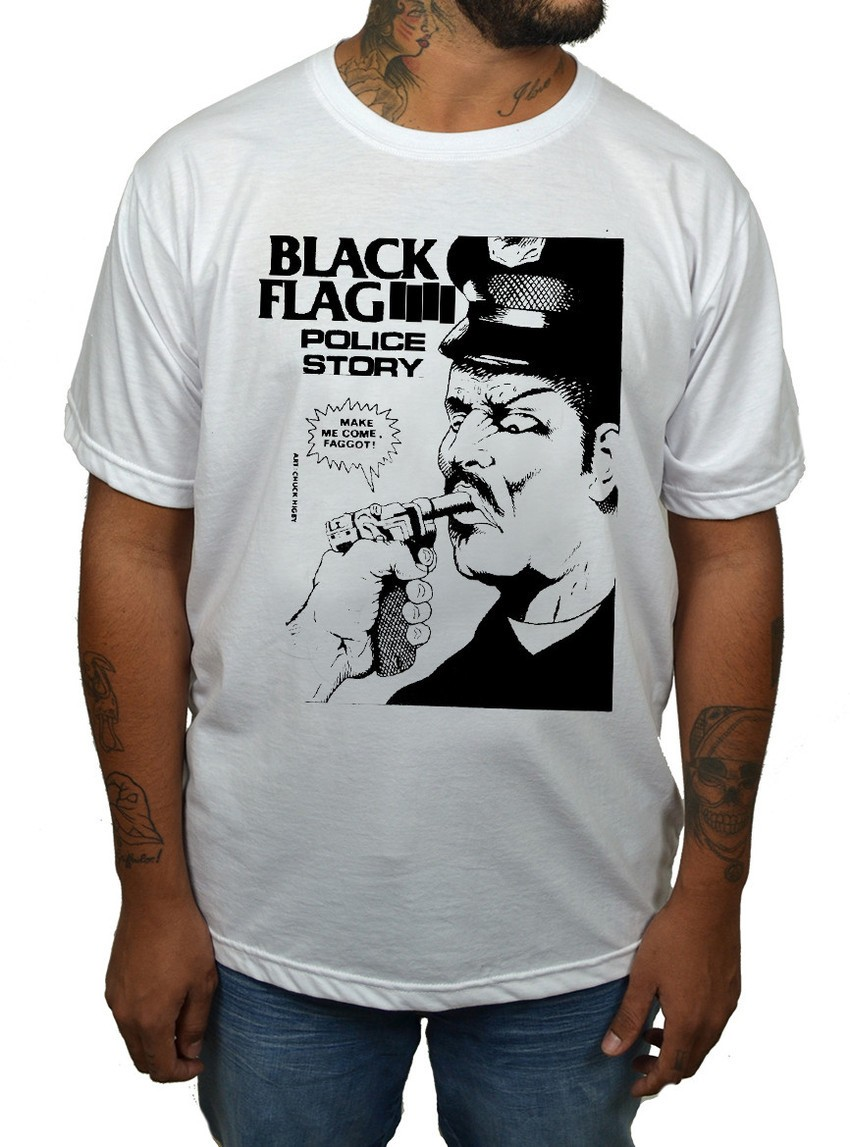 Camiseta Black Flag  - HShop
