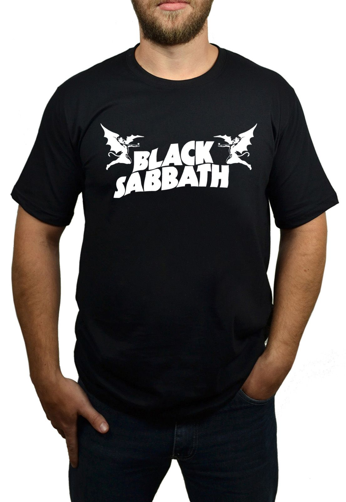 Camiseta Black Sabbath - Demon  - HShop