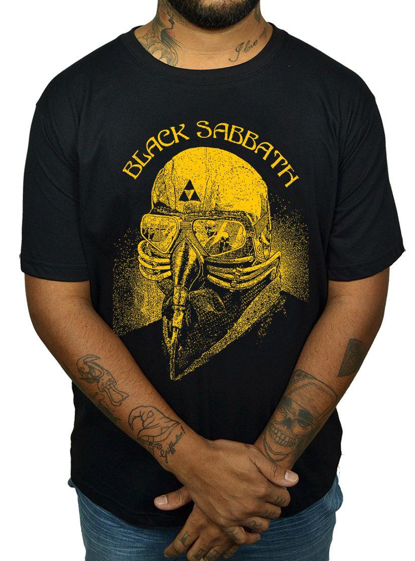 Camiseta Black Sabbath - Tony Stark  - HShop