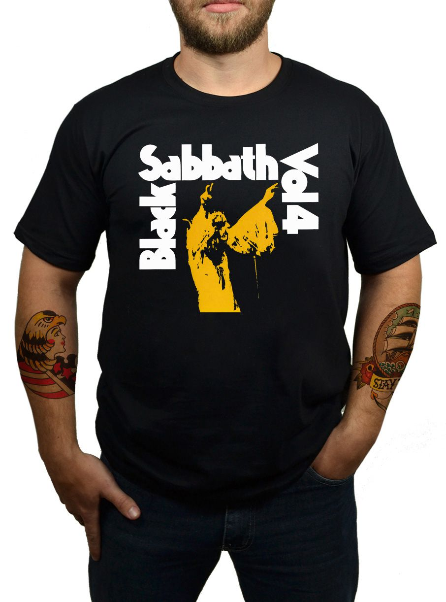 Camiseta Black Sabbath - Vol. 4  - HShop
