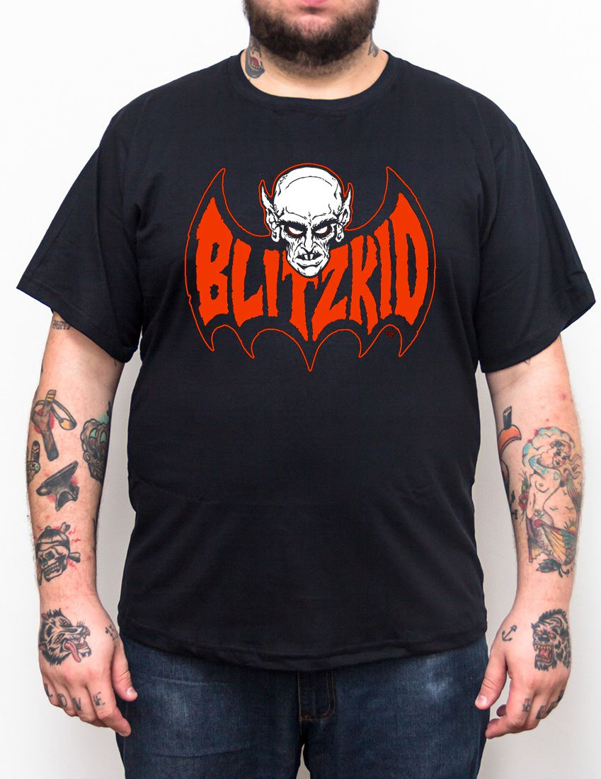 Camiseta Blitzkid Logo - Tamanho Grande  - HShop