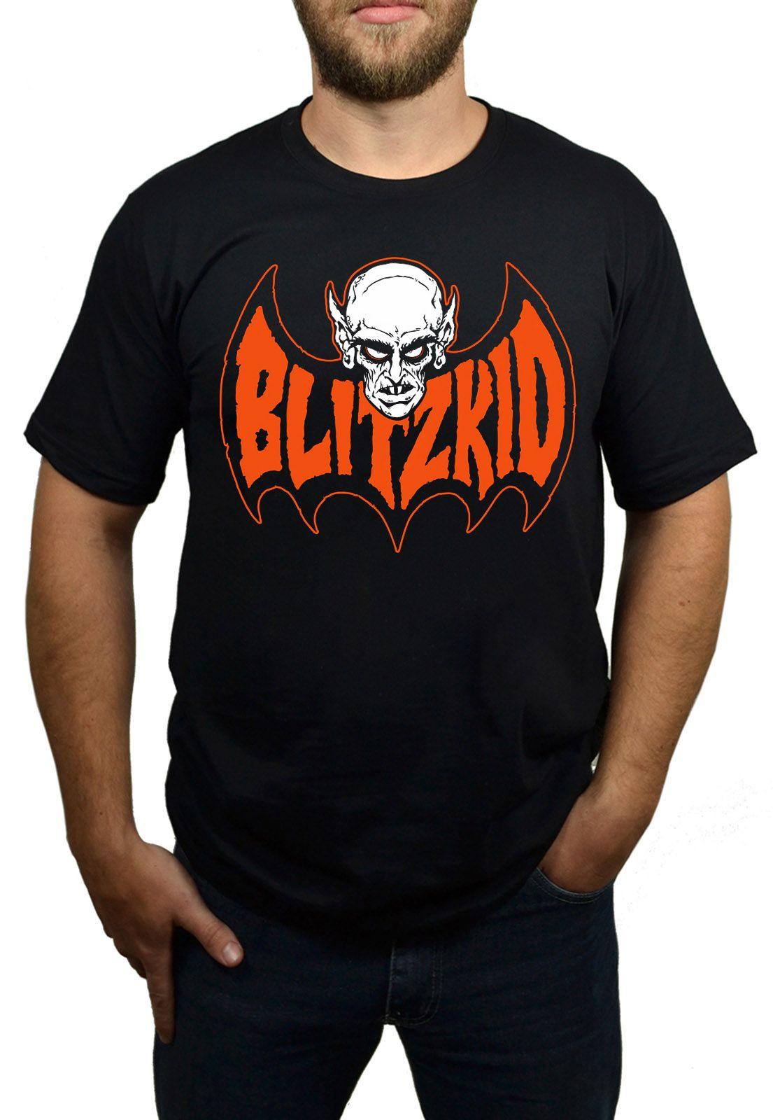 Camiseta Blitzkid Preta  - HShop