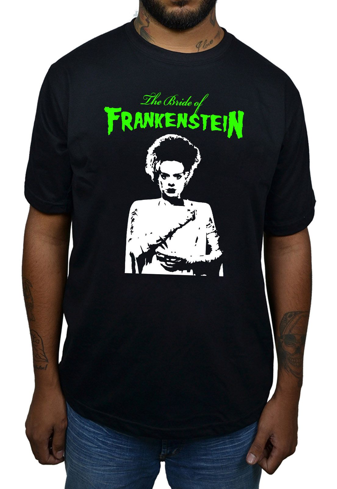 Camiseta Bride of Frankenstein - Preto  - HShop