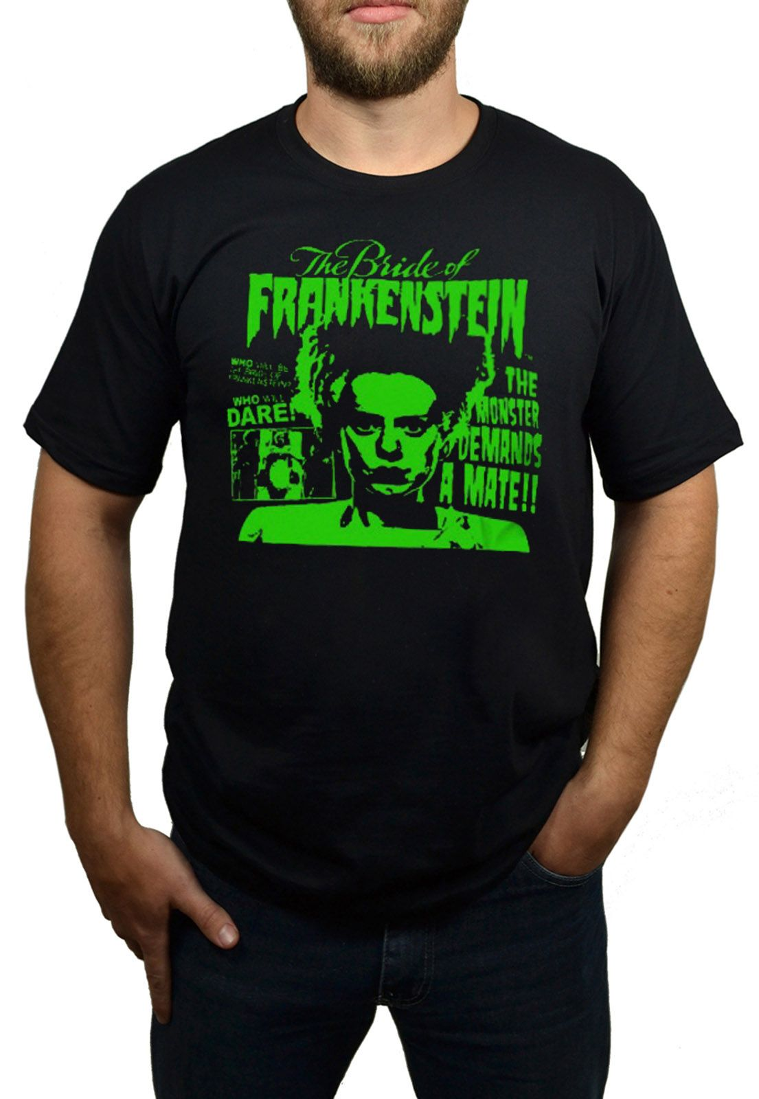 Camiseta Bride of Frankestein - HShop