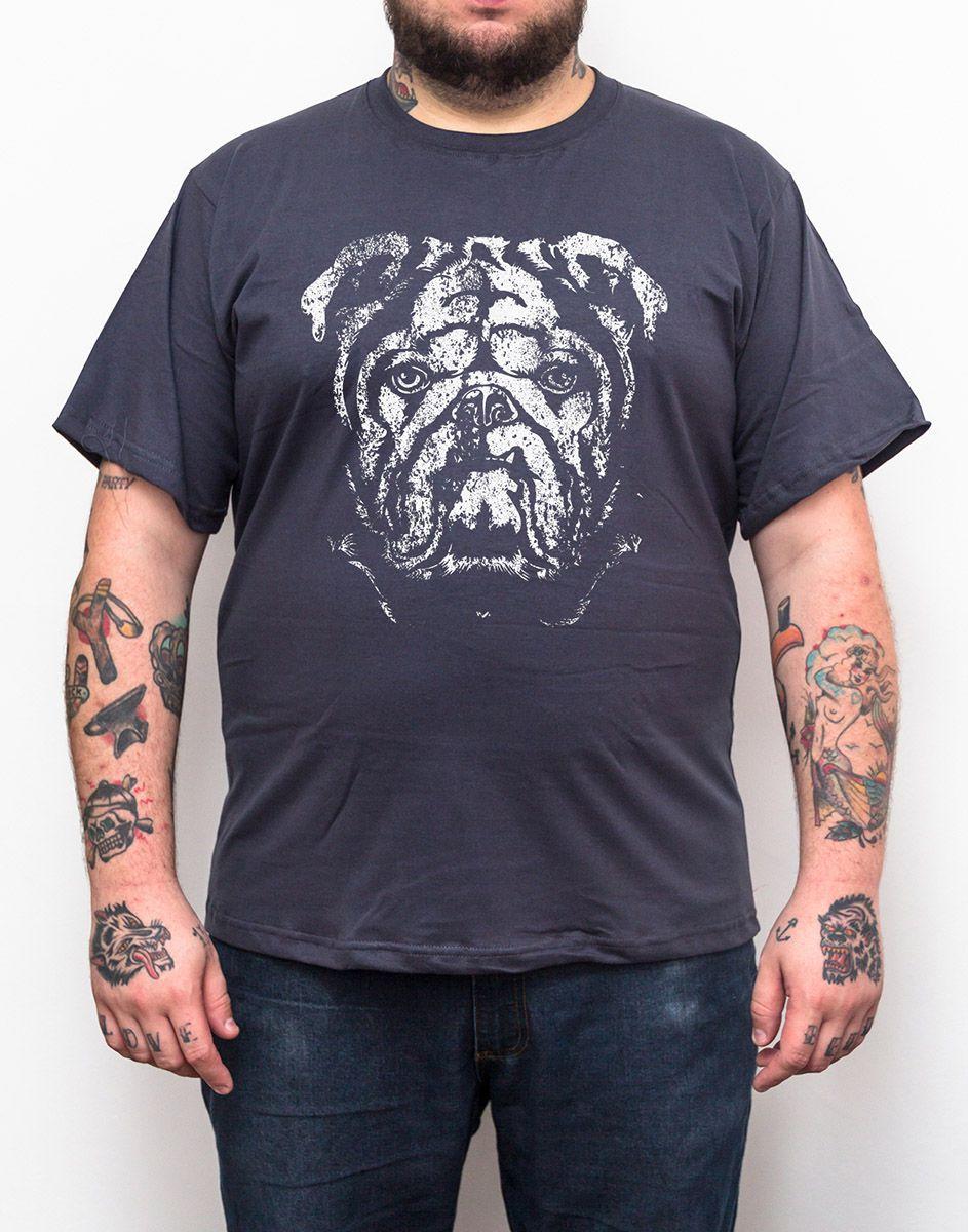 Camiseta Bulldog - Plus Size - Tamanho XG  - HShop