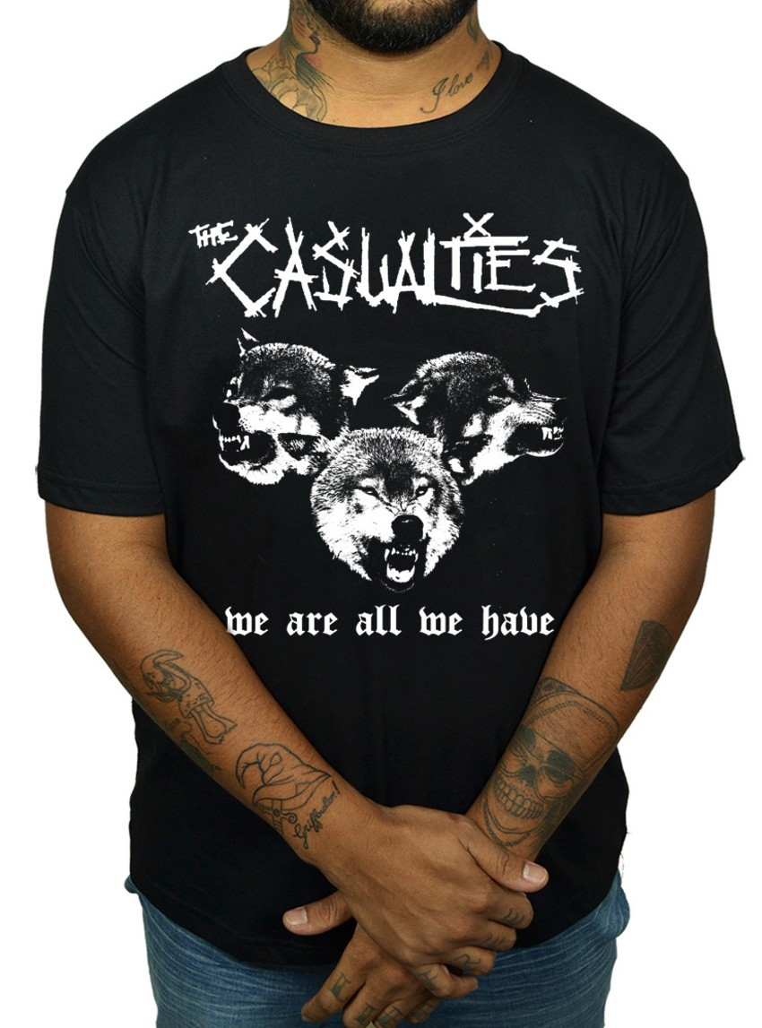 Camiseta Casualties  - HShop
