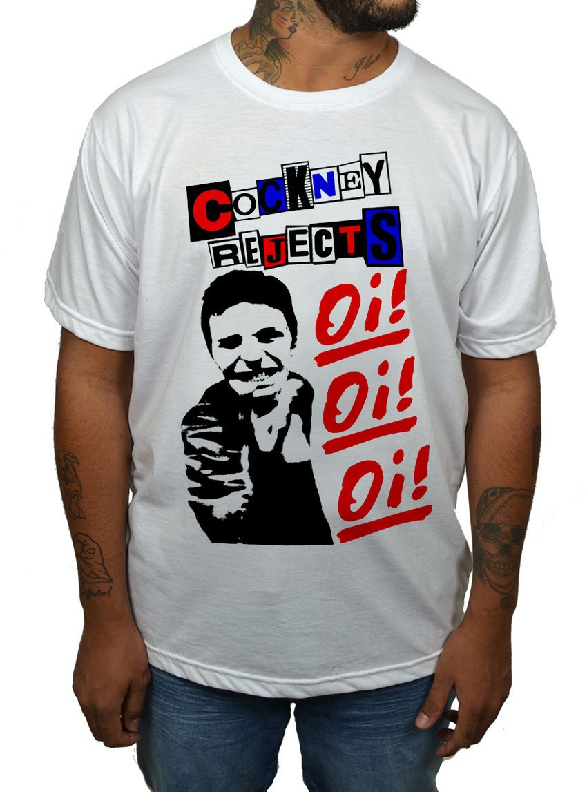 Camiseta Cockney Rejects  - HShop