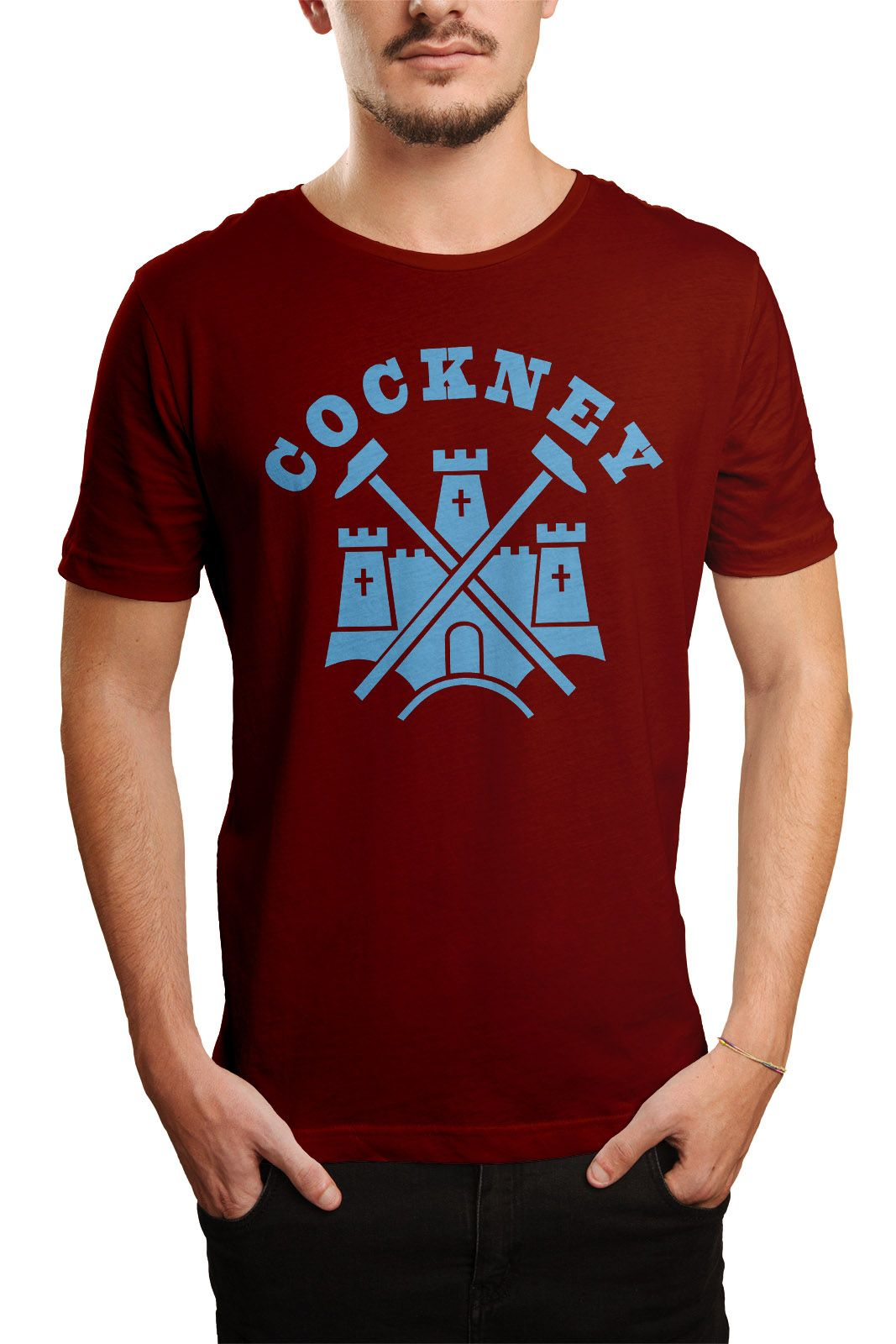 Camiseta  Cockney - Vinho  - HShop