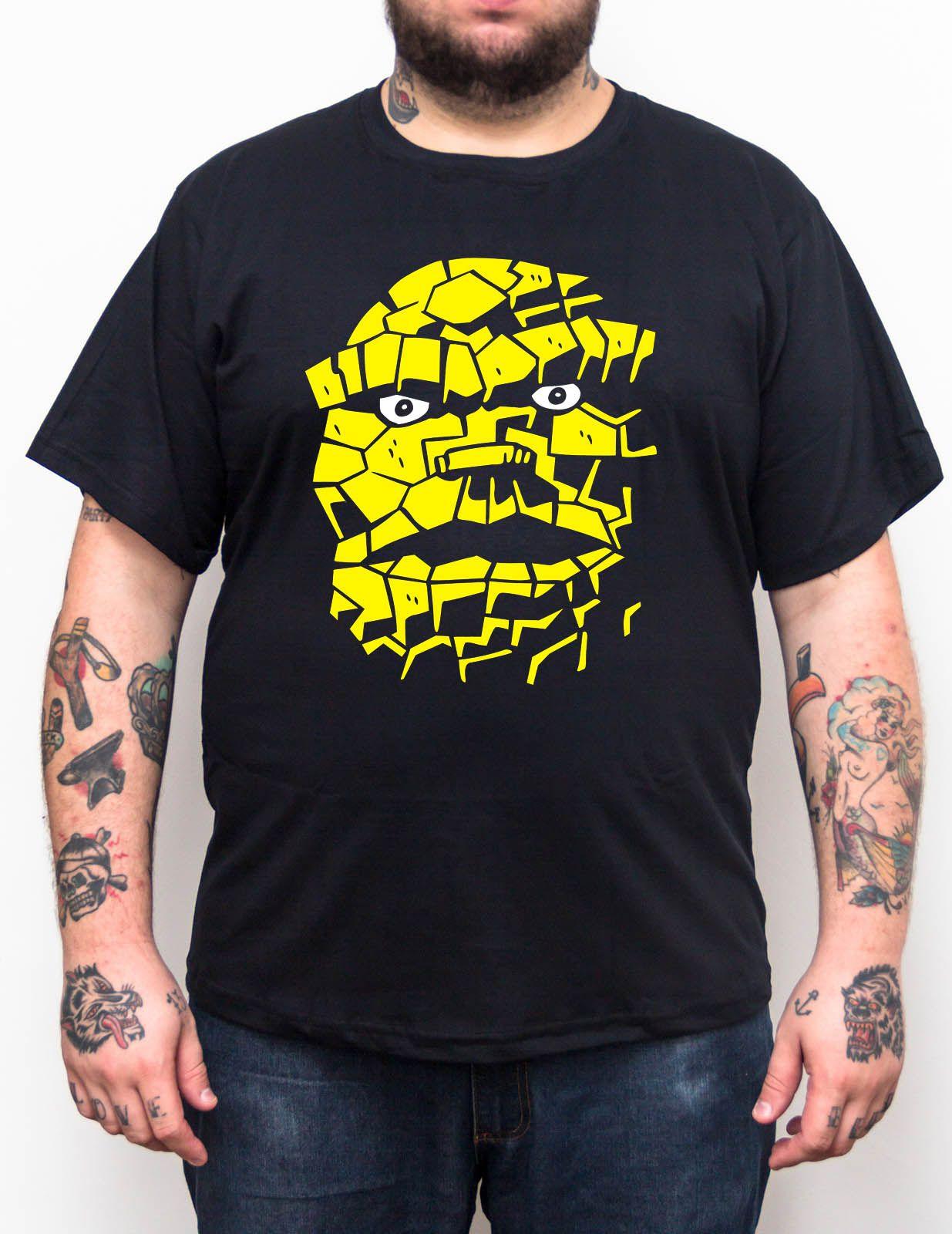 Camiseta Coisa - Plus Size - Tamanho XG  - HShop