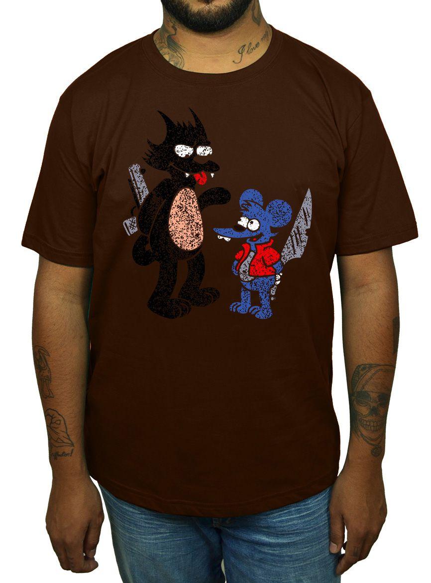 Camiseta Comichão e Coçadinha - Escolha a Cor  - HShop