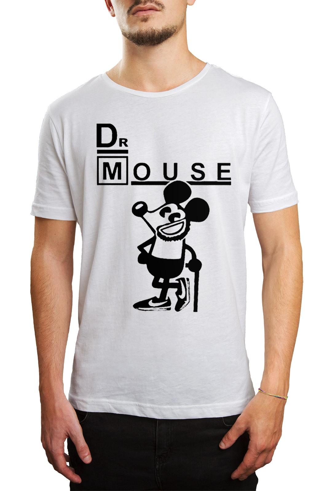 Camiseta Dr Mouse  - HShop