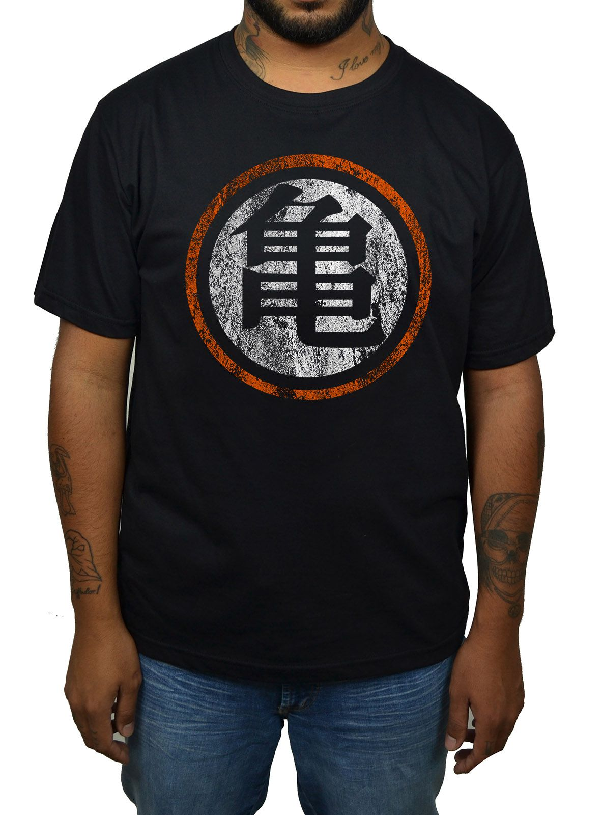 Camiseta Dragonball - Logo Desgastado  - HShop