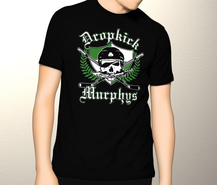 Camiseta Dropkick Murphys Hockey - Tamanho M  - HShop