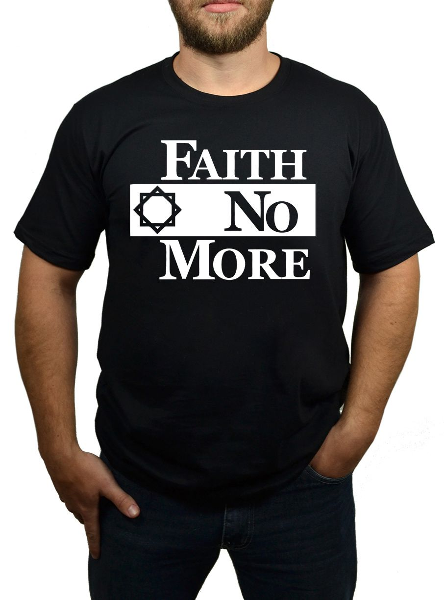 Camiseta Faith No More - Preta  - HShop