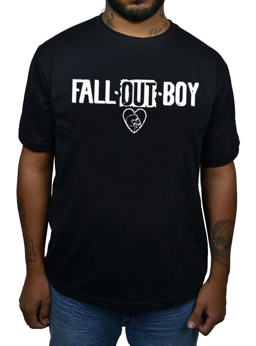 Camiseta Fall Out Boy  - HShop