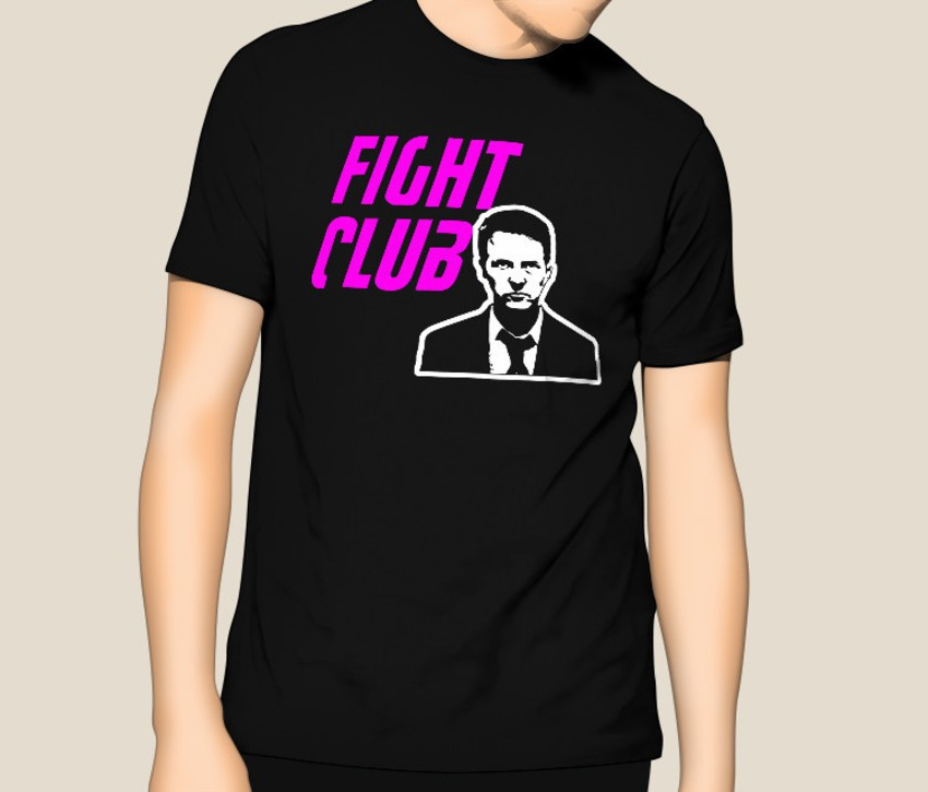 Camiseta Fight Club  - HShop