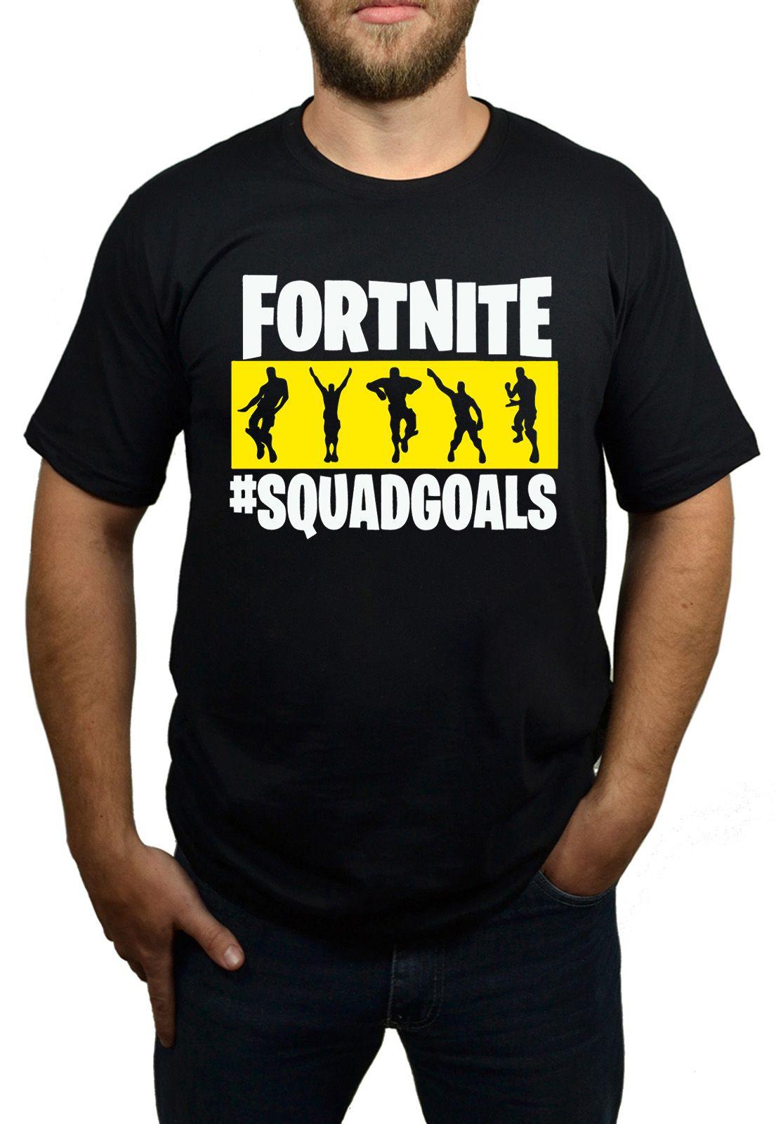 Camiseta Fortnite - Geek - Preta  - HShop