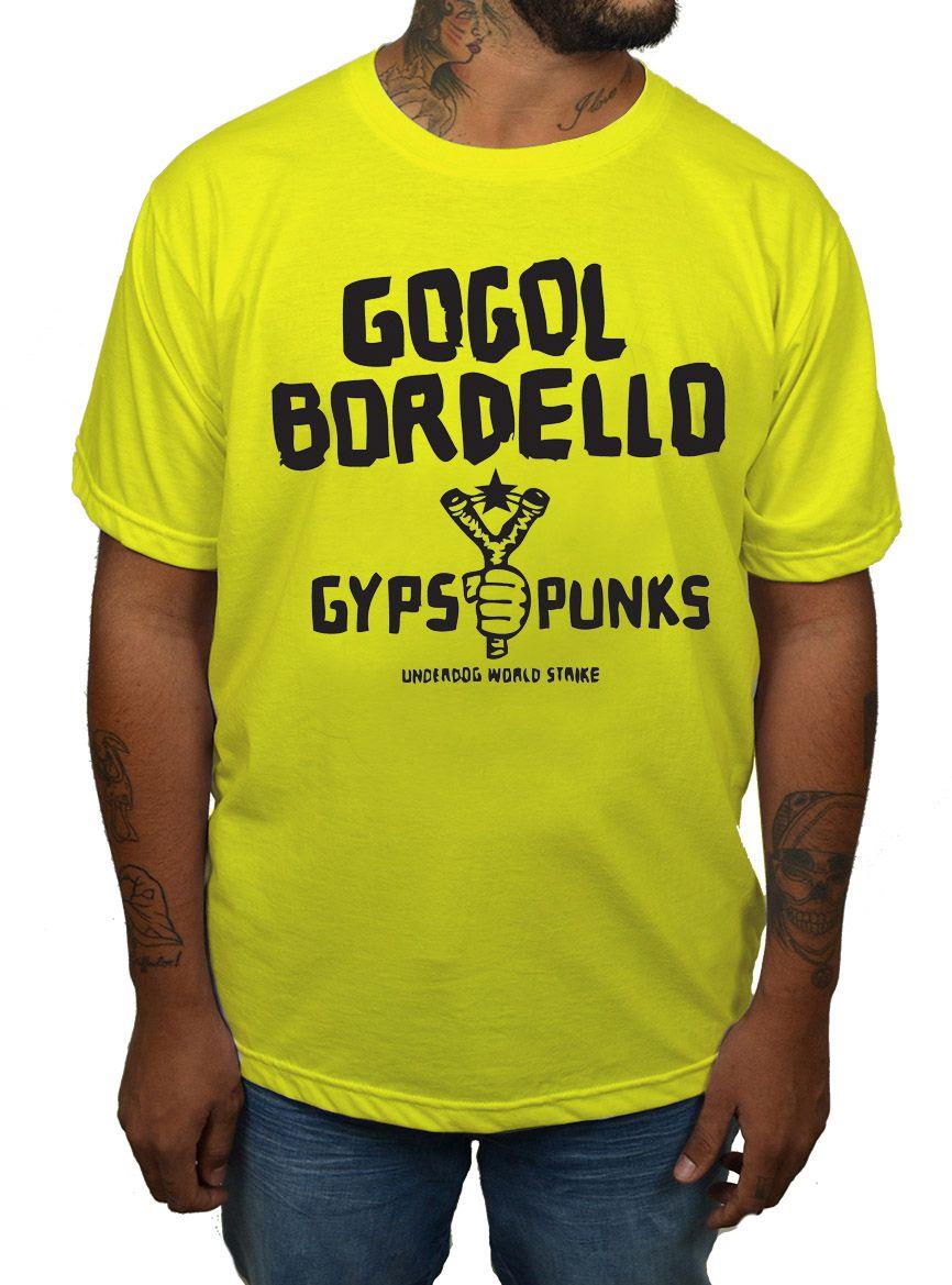 Camiseta Gogol  Bordello - Escolha a Cor  - HShop