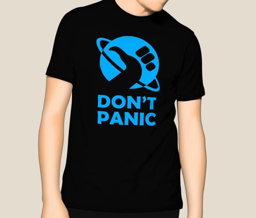 Camiseta Guia dos Mochileiros da Galáxia  - HShop
