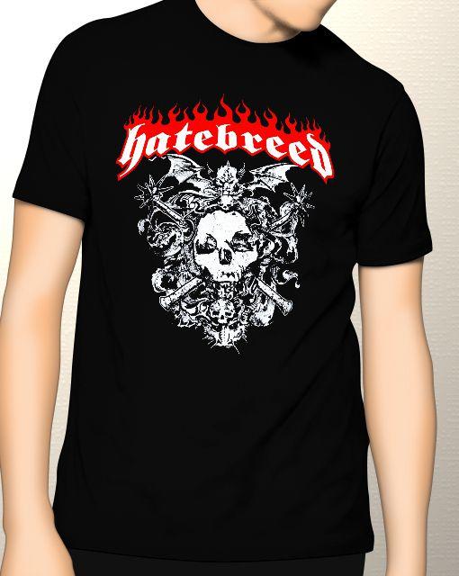 Camiseta Hatebreed - Tamanho M  - HShop