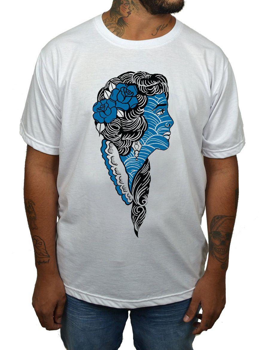 Camiseta Holdfast Bride Branca Branco  - HShop