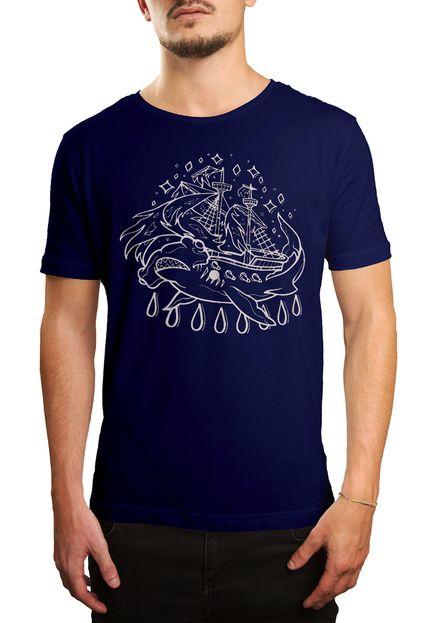 Camiseta Holdfast Hammer! - Azul Marinho  - HShop