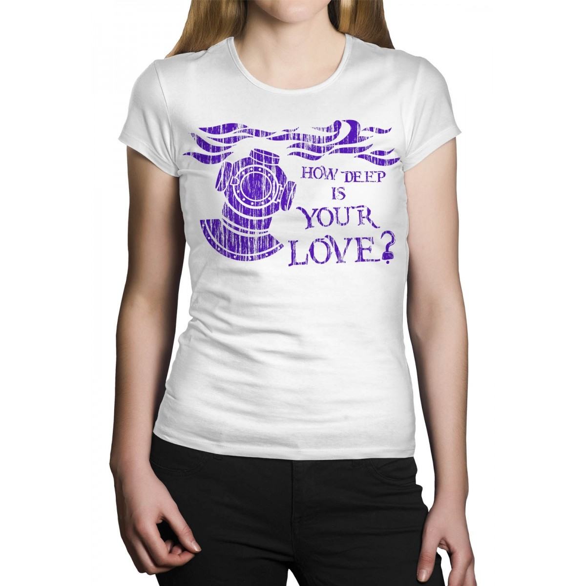 Camiseta Holdfast How Deep Is Your Love Branco   - HShop
