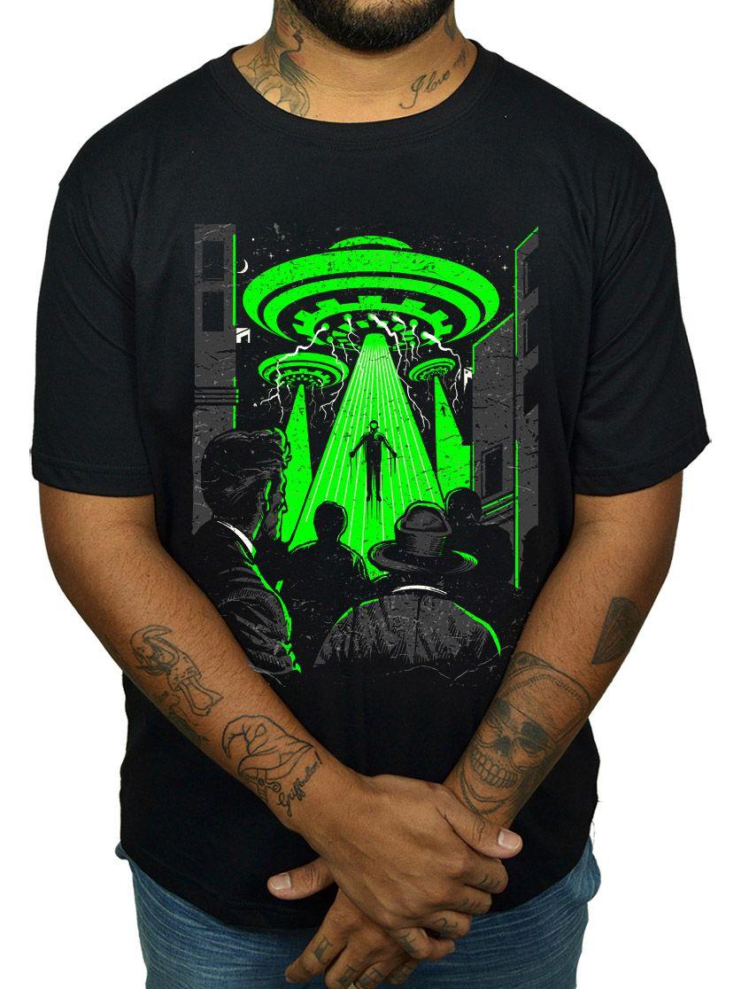 Camiseta HShop Abdução  - HShop