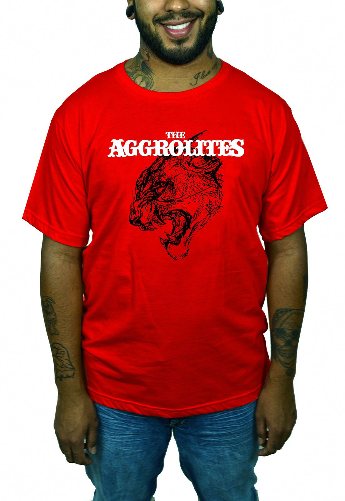 Camiseta Aggrolites - Vermelha  - HShop